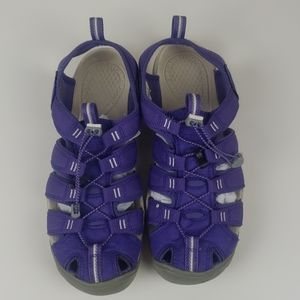 Keen CNX purple womens water sandal shoes size 9